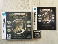 PROFESSOR LAYTON AND THE CURIOUS VILLAGE - NINTENDO DS, DS LITE, DSi FAST POST!