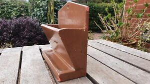 Nice old painted wooden letter rack wall organiser