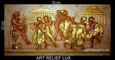 RELIEF ANTIK STYLE GREEK WANDRELIEF WANDBILD GIPS GRIECHISCHE MYTHOLOGIE DEKO