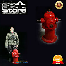 """1/6 Soldier Red Fire Hydrant Model P0013-1 DIY Accessories for 12"""" Action Figure"""