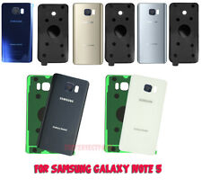 OEM Back Cover Glass Battery Door Camera Cover For Samsung Galaxy Note 5 N920 US