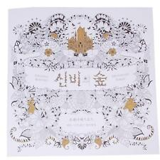 Korean Enchanted Forest An Inky Quest Colouring Book Anti-stress for Kid Adult J