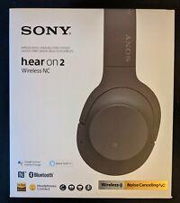 NEW - Sony WHH900NB Over-Ear Bluetooth Wireless Headphones - Black