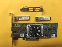 DELL Broadcom N20KJ BCM57810S Dual Port 10Gbe  Network Card + 2* FTLX8571D3BCL