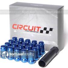 Circuit Performance Blue Spline Drive Lug Nut 12x1.25 (20pcs) Fits Nissan 350Z