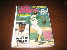 October 1971 Super Sports Magazine-Oakland Athletics Vida Blue