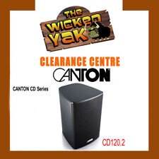 CANTON CD Series 100 W Compact Speakers+Mounts CD120.2 BLACK-FREE SHIPPING- NEW