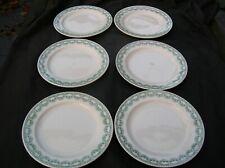 Royal Boch 6 assiettes plates Carlotta aspect neuf