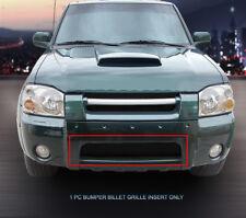 Fedar Fits 2001-2004 Nissan Frontier Black Lower Bumper Billet Grille