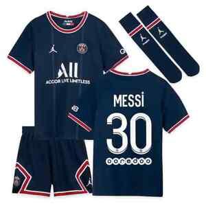 Maillot Enfant du PSG Domicile-Extérieur - Messi, Mbappe, Neymar, Ramos