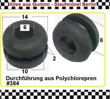 1x Gummitülle Kabeldurchführung Kabelschutz Gummiformteil Durchführung 3815.09