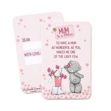 Me to You Mum in a million Message Keepsake Card - Tatty Teddy Bear