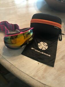SNOWLEDGE Girls Ski Goggles New
