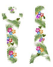 Disney Magic Band 2 MagicBand 2.0 Decal Skins Stickers Hawaii Polynesian Themed