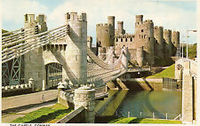 Postcard Wales  The Castle Conway Wales  unposted Colourmaster