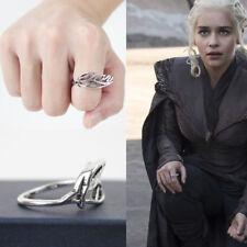 US SHIP Game Of Thrones Daenerys Targaryen Ring Dragon Mother Christmas Gift