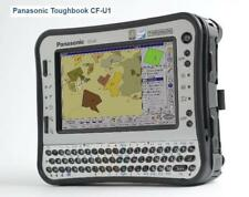 Military Tablet-PC portable Panasonic cf-u1 16 Go SSD 1 Go ip65 code à barres Reader