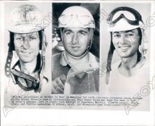 1952 Indianapolis 500 Jack McGrath Alberto Ascari Freddie Agabashian Press Photo