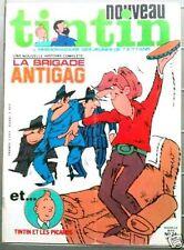 Nouveau Tintin 24 - 2/76  Brigade antigag