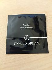 Authentic NEW GIORGIO ARMANI Fluid Sheer MakeUp Base Sample Shade 2 NIP 0.03oz