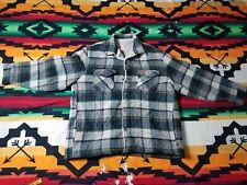 Woolrich Rugged Fleece Lined Heavy Winter Jacket Men Large