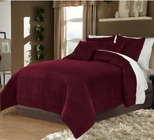 Hotel Bedding,100% Velvet GRAPES King/Cal King Duvet Quilt Cover Set