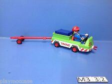 (M332) playmobil Véhicule manutention aéroport 3185/3186/3212
