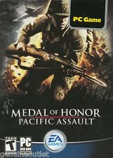 Medal Of Honor Pacific Assault for PC Brand New Sealed