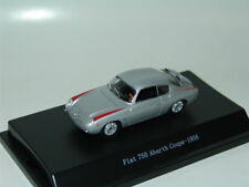 FIAT 750 ABARTH COUPE 1956 SILVER 1:43 STARLINE
