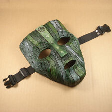 Resin Replica The Mask Loki Mask With Stripe Halloween Mask JH01