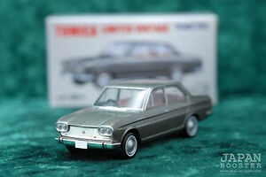[TOMICA LIMITED VINTAGE LV-95a 1/64] NISSAN CEDRIC SPECIAL 6 1966 (Gray)