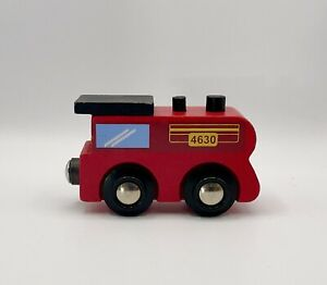 Wooden Railway Fire Truck 4630, Works With Thomas & Friends and BRIO