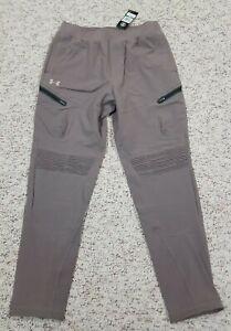 Under Armour Jogger Sweatpants Tan/Beige SAMPLE Mens Size Large 1357941 281