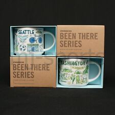 2017 STARBUCKS SEATTLE & WASHINGTON BEEN THERE SERIES COLLECTION COFFEE MUG SET
