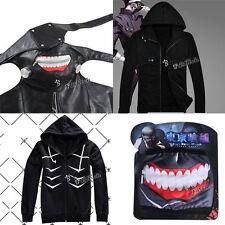 Tokyo Ghoul Jin Muyan Kostüm Anime Cosplay Muster Masken Sweater Jacke Fashion