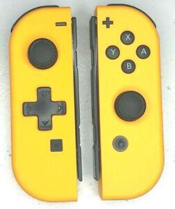 Nintendo Switch Custom Joy-Con Soft Touch Orange Joy Cons Controllers D-PAD
