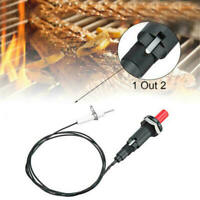 2 Outlet BBQ Gas Grill Piezo Push Button Igniter with Spark Ignition Electrode