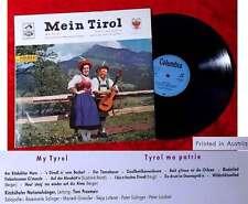LP Kitzbüheler Nationalsänger Toni Praxmair: Mein Tirol (Columbia SME 88 008) A