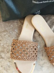 Dune Tan Sandals LADIES  SIZE 6
