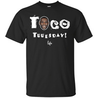 Taco Tuesday LeBron James T-Shirt Taco Tuuesday TREND Black S-5XL MEN