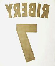 FLOCAGE LFP (MONBLASON) OLYMPIQUE MARSEILLE HOME - RIBERY #7 - 2006-2007