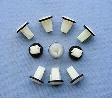 (2192) 10x Verkleidung Clips Befestigungs Klips Halter universal Clip weiß