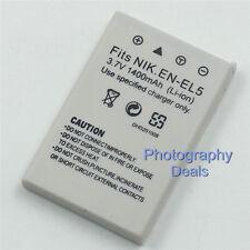 1400mAh Replacement For Nikon EN-EL5 Battery For Nikon P90 P100 P510 P3 P4 P5000
