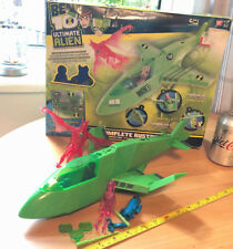 Ben 10 Ultimate Alien Completo rustbucket III en caja Bandai Juguete Original