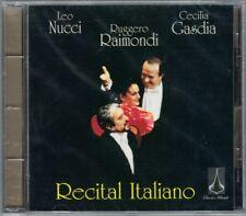 Leo NUCCI Ruggero RAIMONDI Cecilia GASDIA: RECITAL ITALIANO Penso Malia Ninon CD