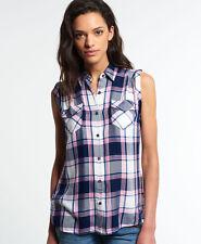 Checked Sleeveless Shirts for Women | eBay