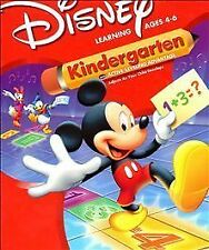 Video Game PC Disney Learning Mickey Mouse Kindergarten Donald Duck NEW Big Box