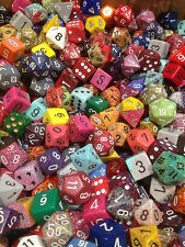 LOOSE ONE (1) POUND OF CHESSEX ASSORTED RANDOM DICE - GAMING AD&D (16 OUNCES)