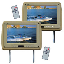 "Tview T110PLTAN Monitor 11.2"" Widescreen Tan in Headrest Remote"