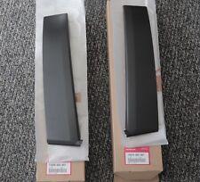 Oem Honda 90-91 Crx Right & Left Side Door Sash Garnish B Pillar Trim (Fits: Honda Crx)